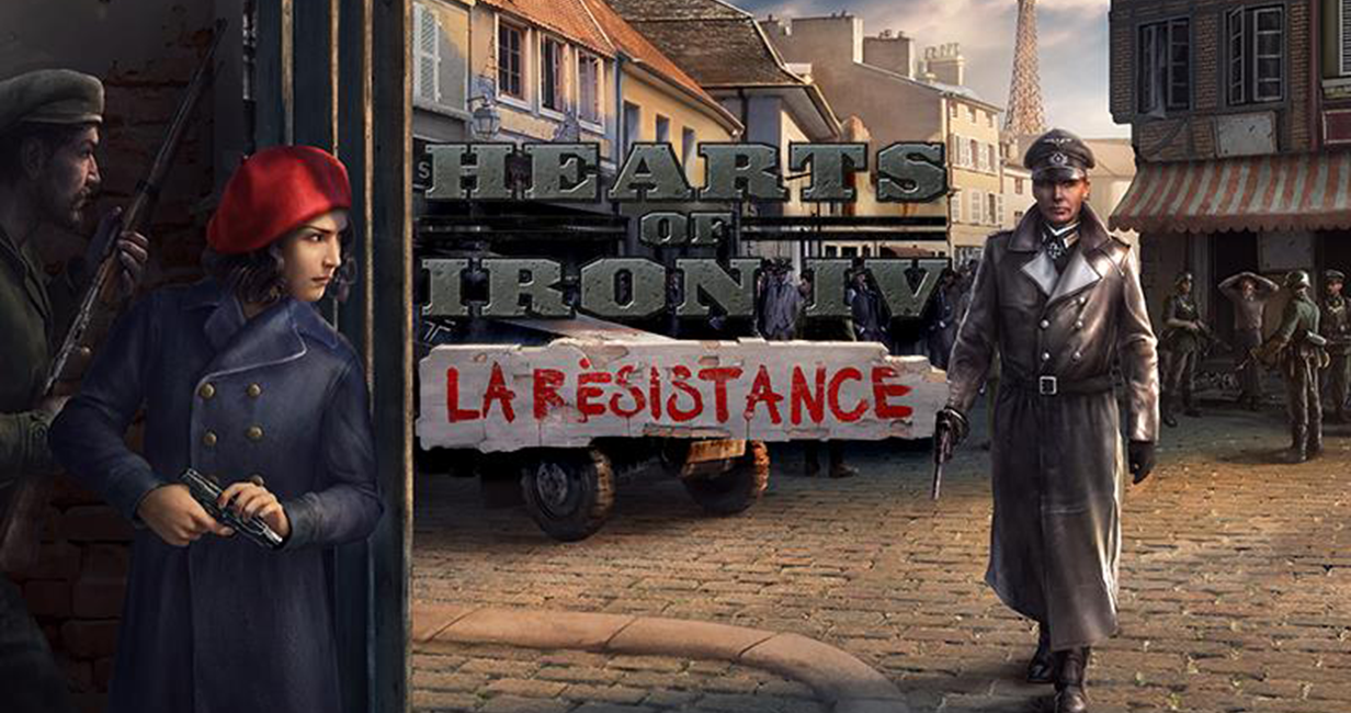 Hearts of Iron IV joins La Resistance in February