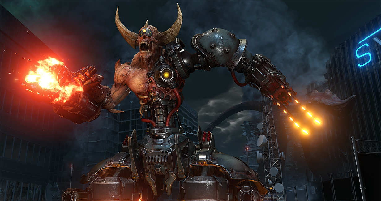 Doom Eternal Dev Diary details in game events