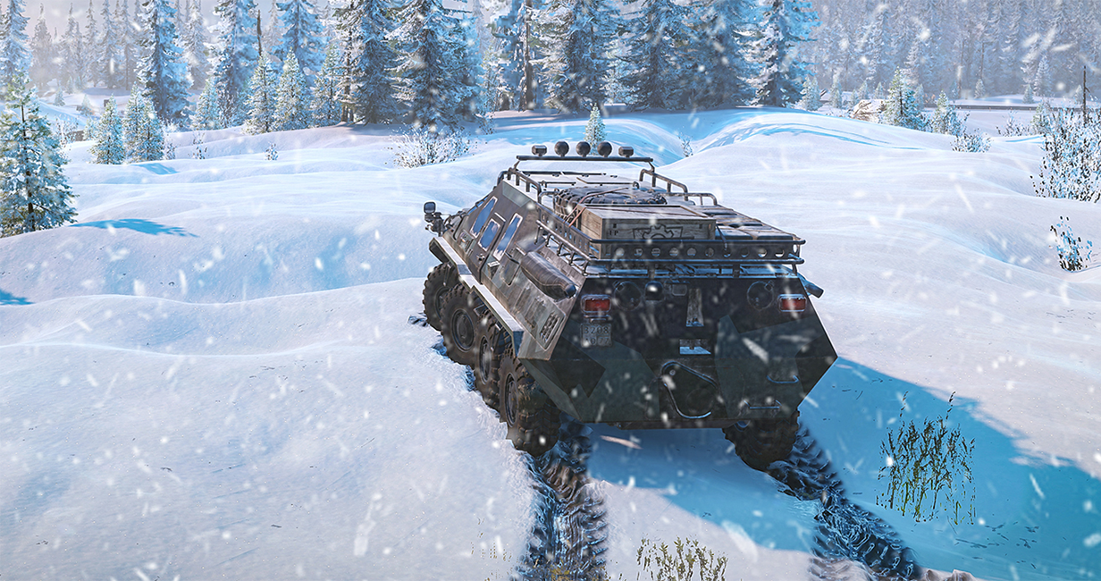 SnowRunner trailer reveals physics, contracts and more