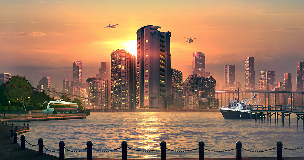 Cities Skylines Sunset Harbour arrives next week